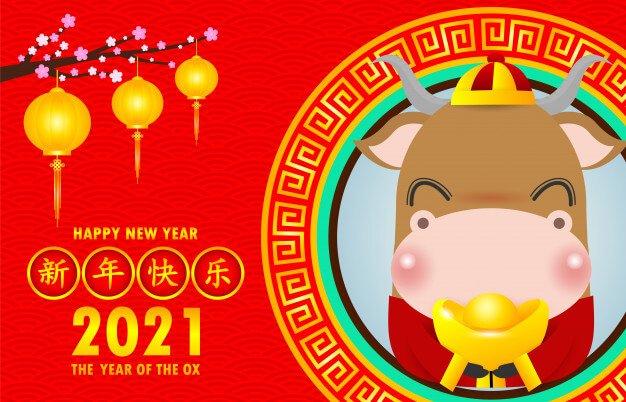 Kineski horoskop za 2021. godinu - Godina metalnog Bivola!